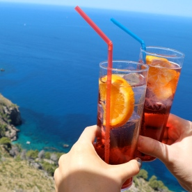 Campari by the sea