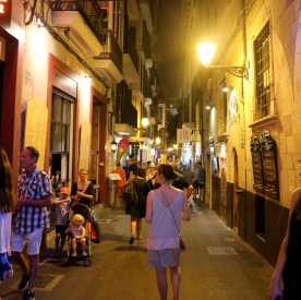 Exploring Palma by night