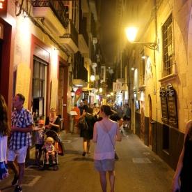 Exploring Palma by night