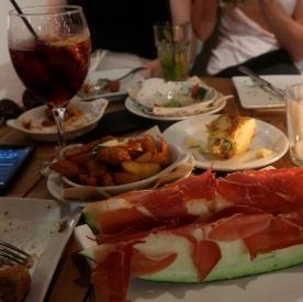 Dinner at Xelini, Deia