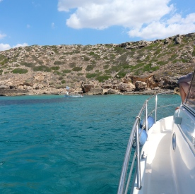 Mallorca by boat