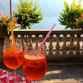 Happy Hour @ Hotel Villa Marie, Lake Como