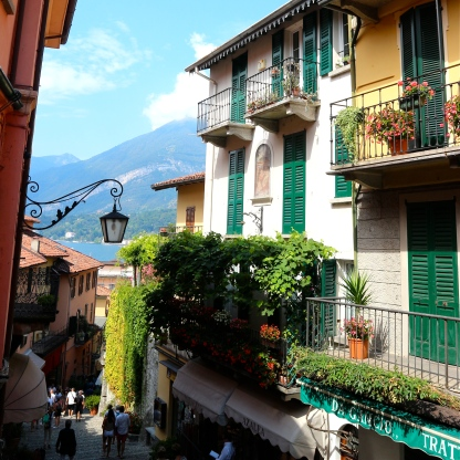 Streets of Bellagio