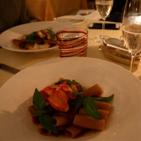 Lobster Pasta @ The Grand Hotel Tremezzo