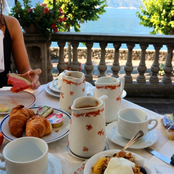 Brunch views @ Hotel Villa Marie