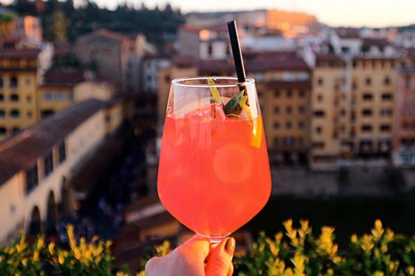 Cocktails at La Terraza