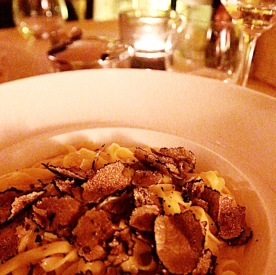 Truffle Fettuccine at L'Parione