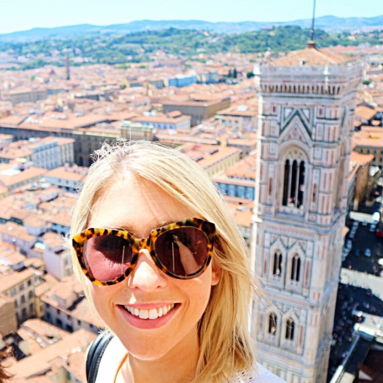 The view from the top of the Duomo