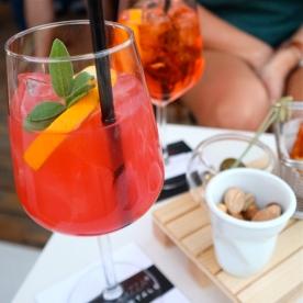 Rooftop drinks at La Terraza