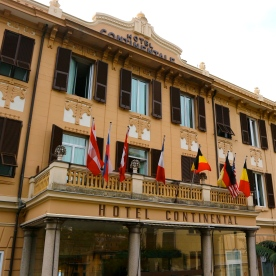 The beautiful Hotel Continental