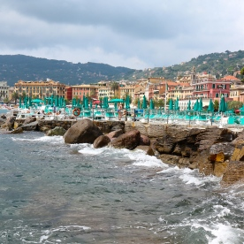 Santa Margherita harbour views