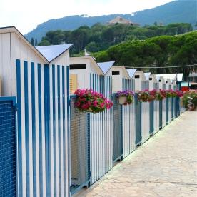 Public beach in Santa Margherita
