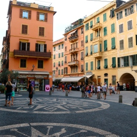 Back strees of Santa Margherita