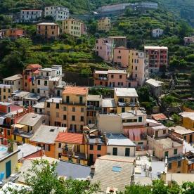 Hills above Riomaggiore
