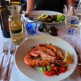 Lunch in Manarola @ Marina Piccola