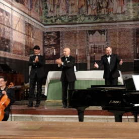 Opera performance at St Paul's Within the Walls